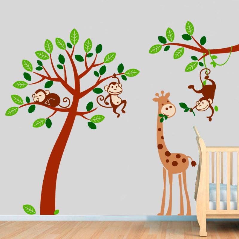 Adesivo Safari ~ Adesivo Infantil Safari SFR 05 VINIKO LOJA Elo7