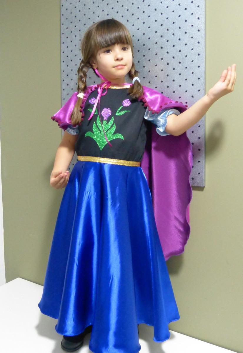 Anna Frozen Vestido