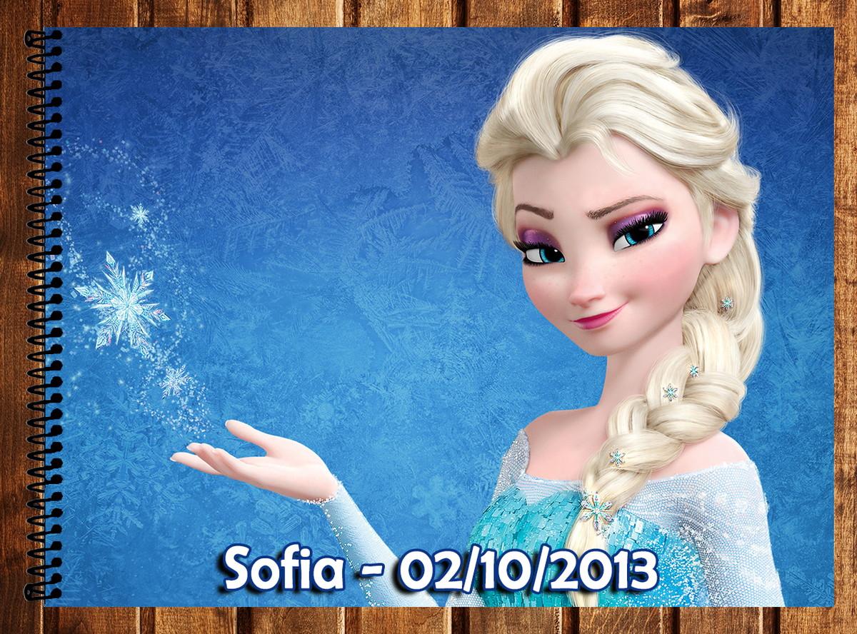 Caderno De Desenho Frozen No Elo7 Atelie Da Naty 46d4a8