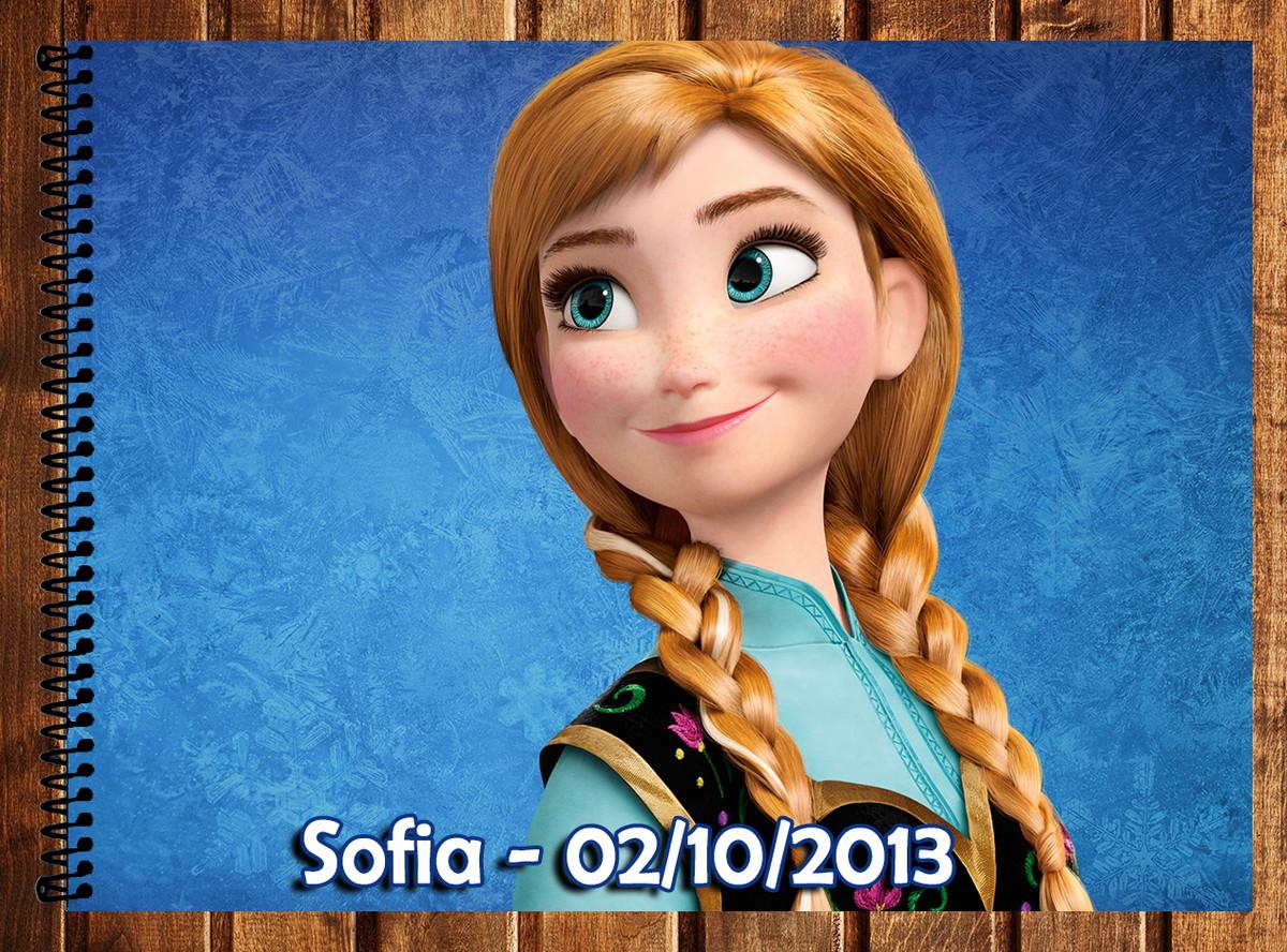 Caderno De Desenho Frozen No Elo7 Atelie Da Naty 46d4aa