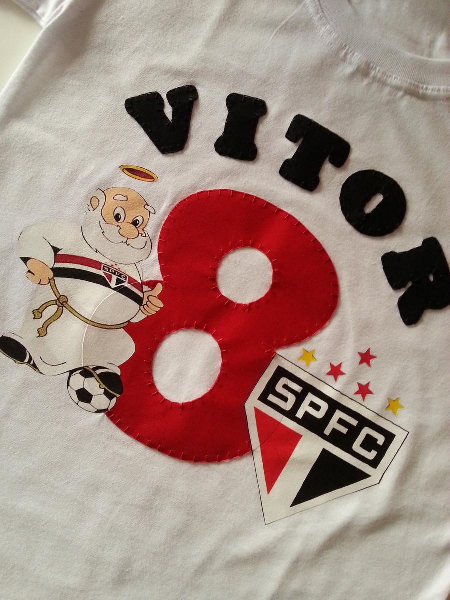 Camiseta Aniversário Futebol no Elo7  e6d9880fd24a5
