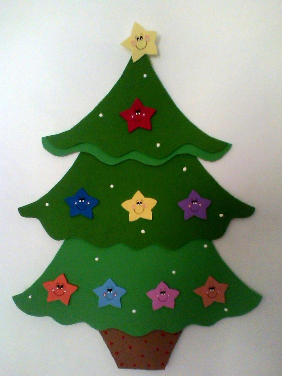 ENFEITE DE PORTA NATAL no Elo7 ELAINE ARTE NA VEIA (47BEF5) -> Decoração Em Eva Natal