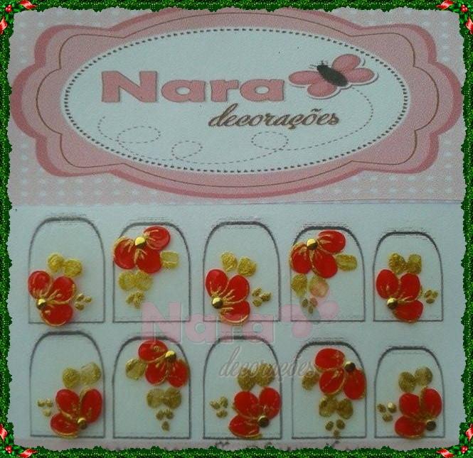 Armario Sin Puertas Niños ~ Adesivo de unha flor vermelha Natalina Nara Decorações Elo7