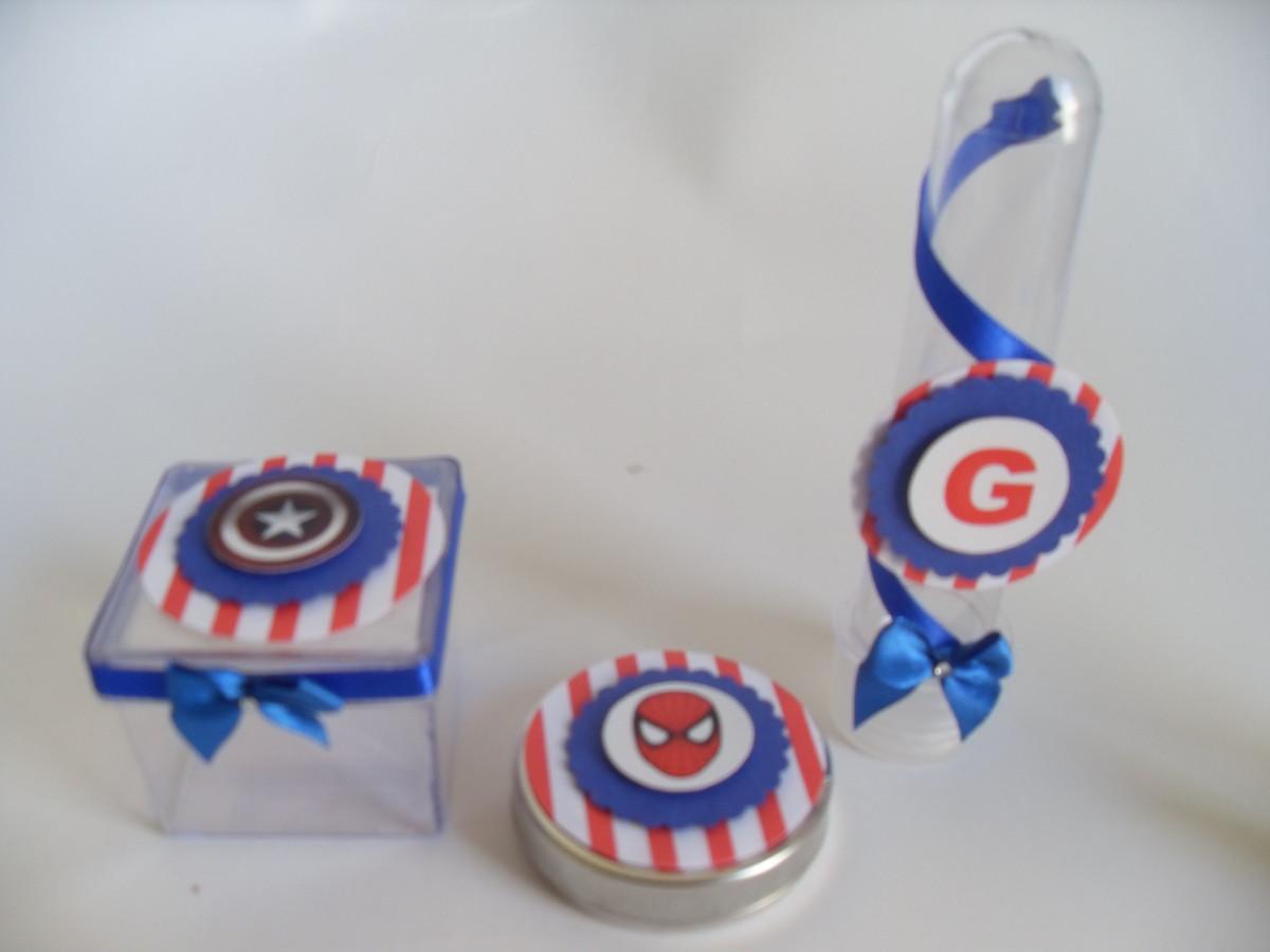 Lembrancinhas para festa infantil dos Vingadores