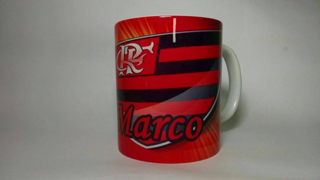 Caneca de Porcelana-Flamengo no Elo7  9a5880e71a5d7
