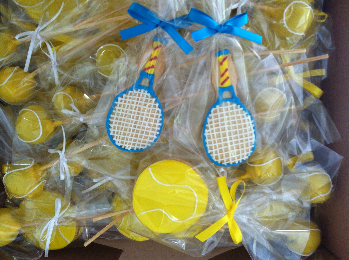 Biscoito decorado tenis no Elo7  4f5a0031ae0be