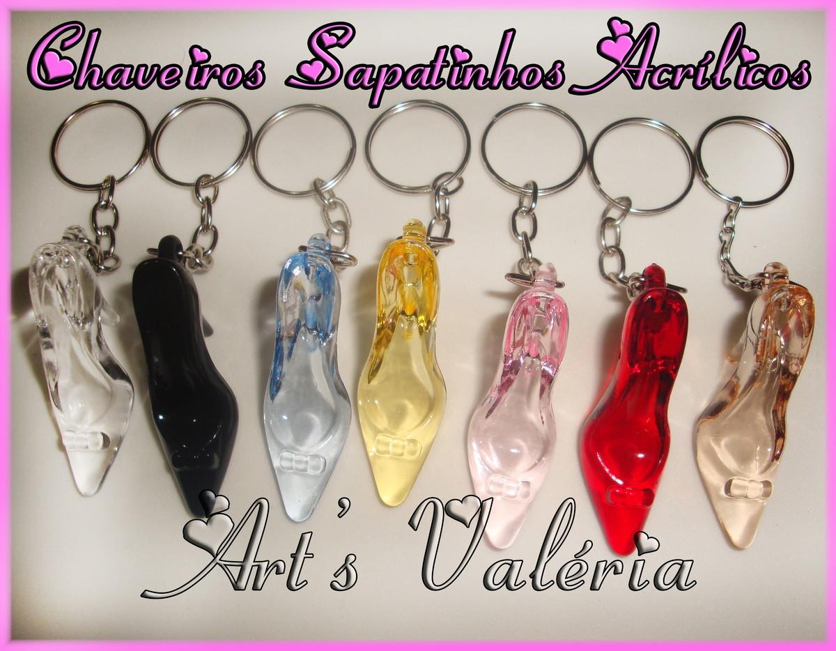 Chaveiro Sapatinhos Salto Alto no Elo7   Arts Valeria Personalizados ... 62096bc598