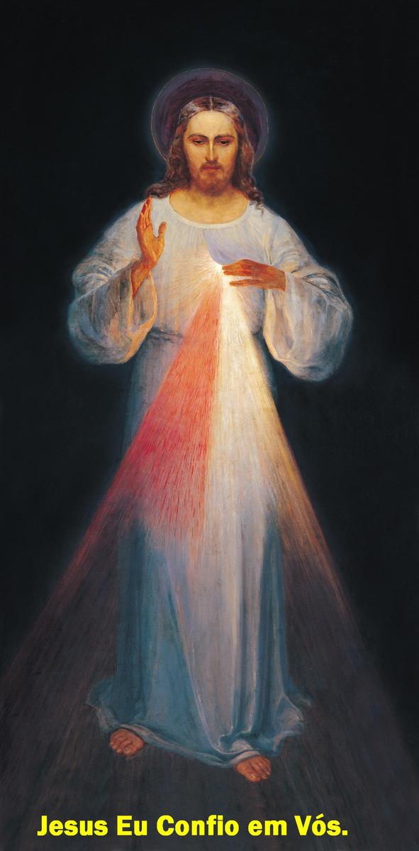 Suficiente Poster Jesus Misericordioso 29.7CM X 21 no Elo7 | Ateliê São José  QZ95