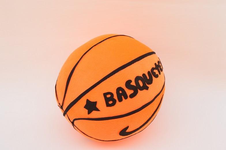 74f2075794 bola de basquete de pelúcia no Elo7