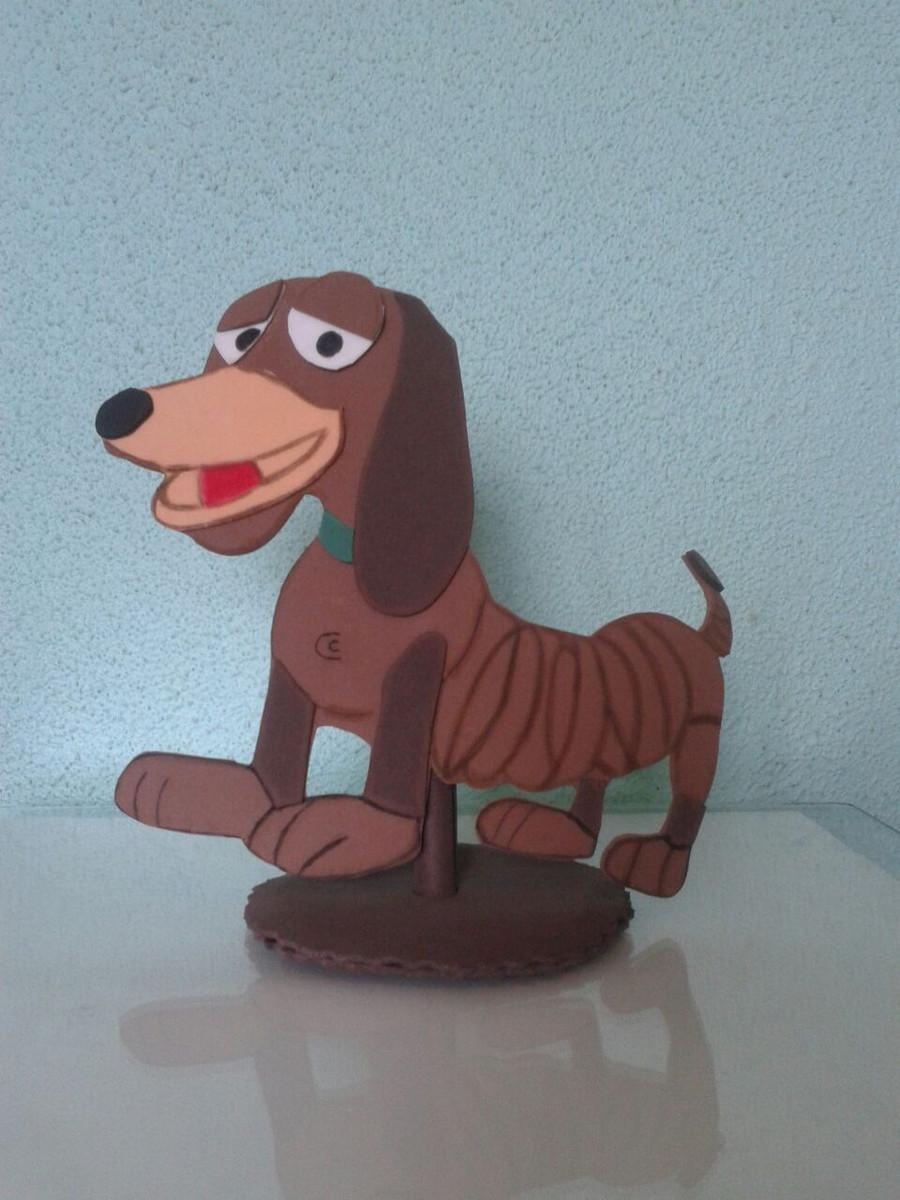 centro d mesa cachorro de mola toy story no elo7 eli e v a