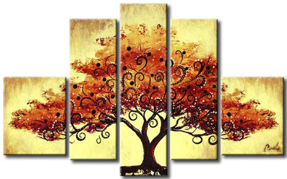 Quadro abstrato moderno rvores cod 310 meuri quadros e decora es elo7 - Cuadros estilo moderno ...