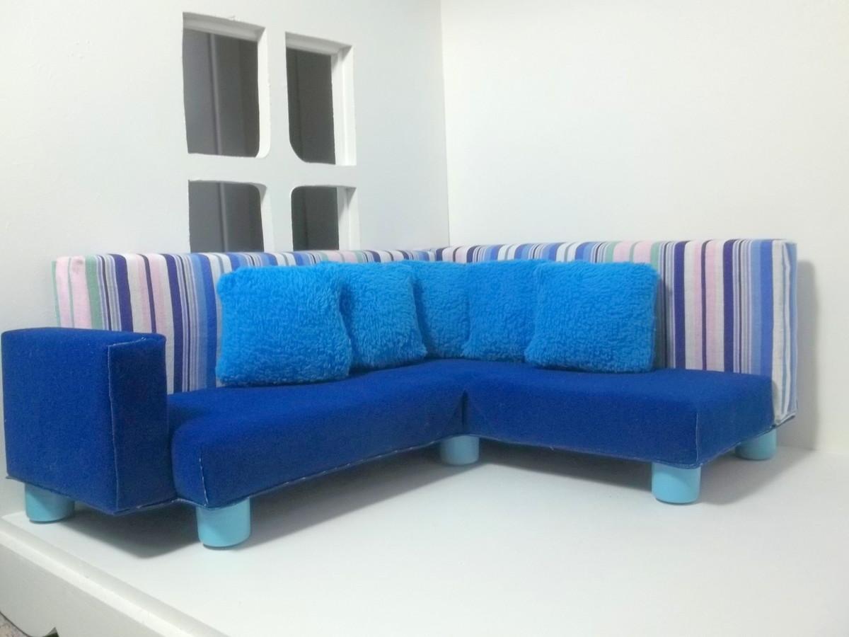 sofa de canto para barbie 02 colecionadores sofa de canto para barbie  #1272B9 1200x900