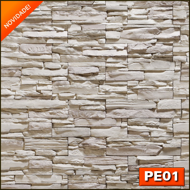 5ce117a88 Adesivo de Parede - Papel Parede Pedra Canjiquinha no Elo7