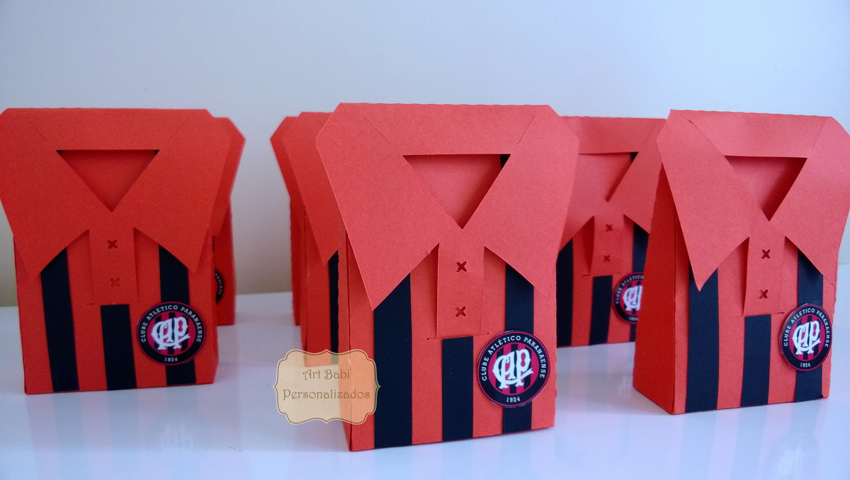 Caixa Camisa de futebol no Elo7  dbbe742d991d3