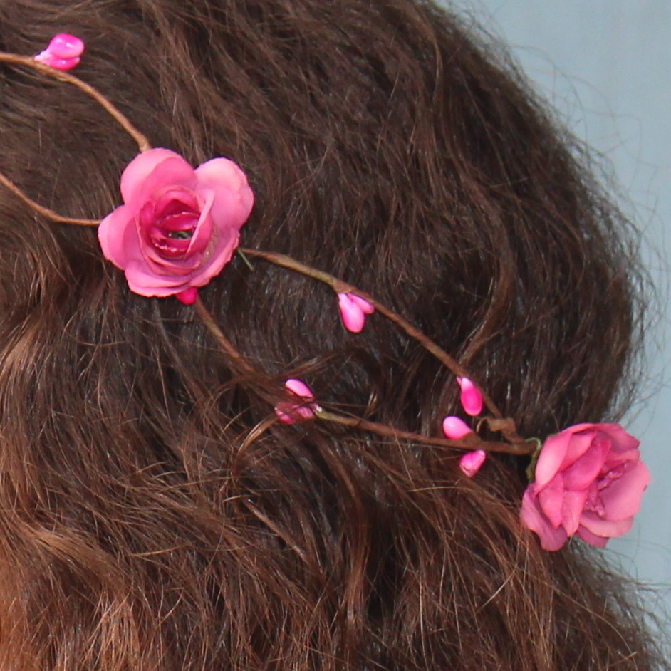 Coroa de Flores Rosa Pink no Elo7  cabed8b4707