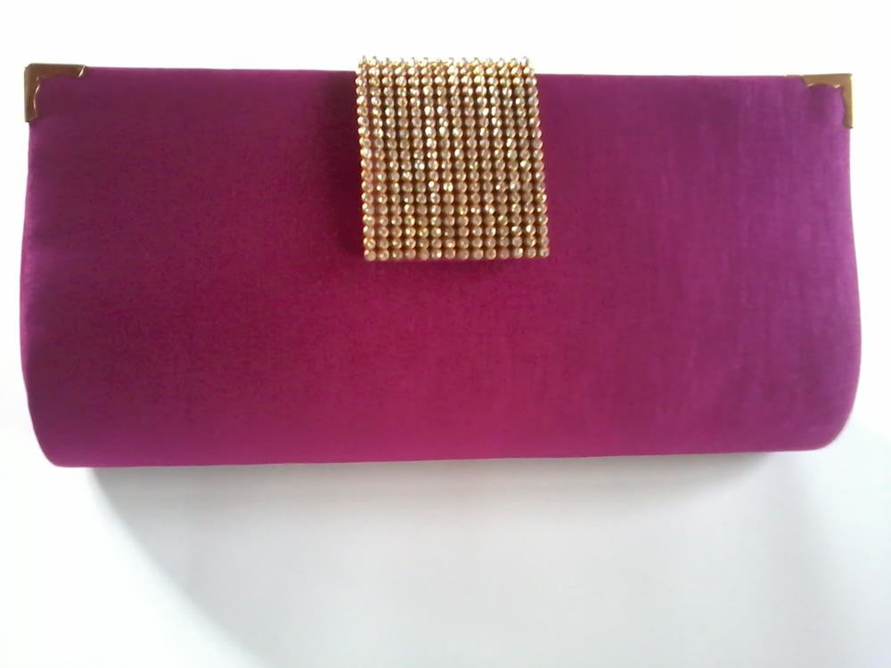 Bolsa De Festa Rose : Bolsa carteira festa luxo rosa f?csia ateli? lilica