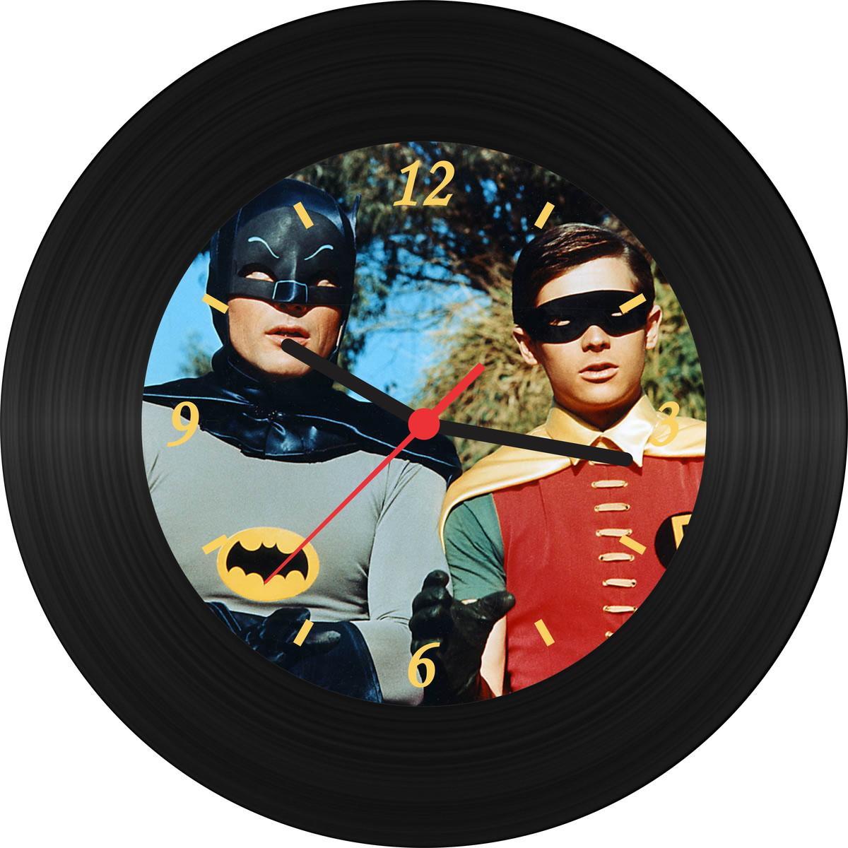 f833ad47a5c Zoom · Relógio de Vinil - Batman   Robin