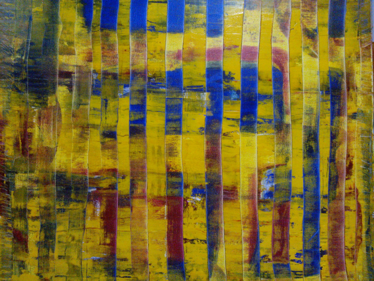 Painel Abstrato Contempor Neo Regina Canto Galeria Elo7