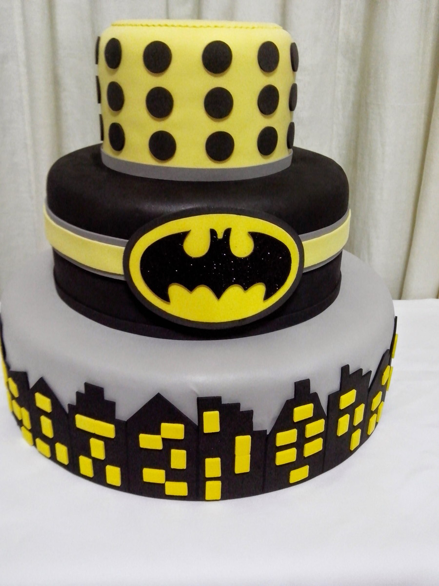 The Dark Knight Cake