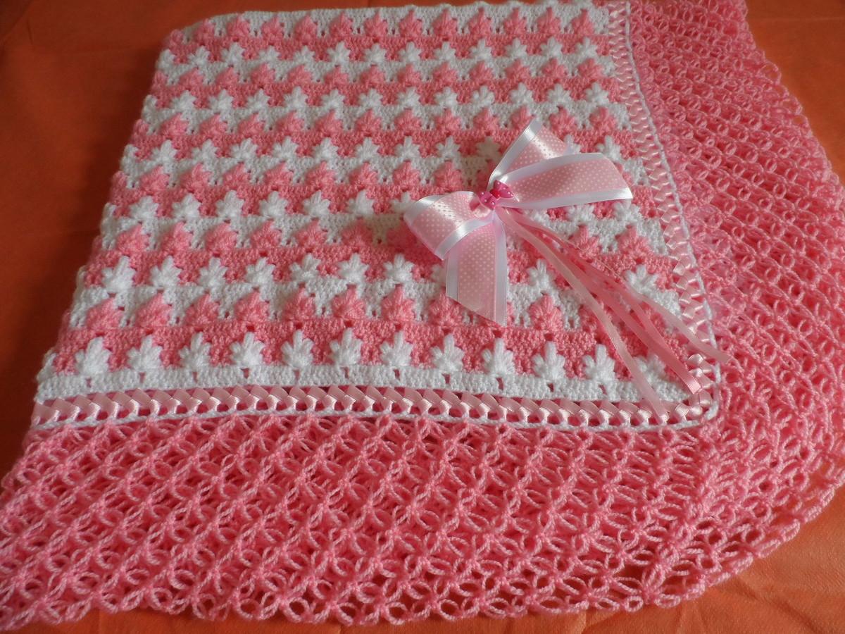 Manta de bebe croch no elo7 sandrartes cute 4dcf8a - Manta de crochet facil ...