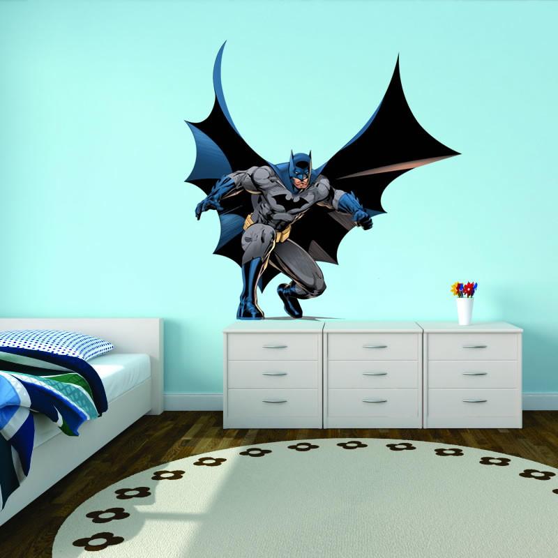 d81f1a56f039f4 Adesivo de Parede Infantil Batman