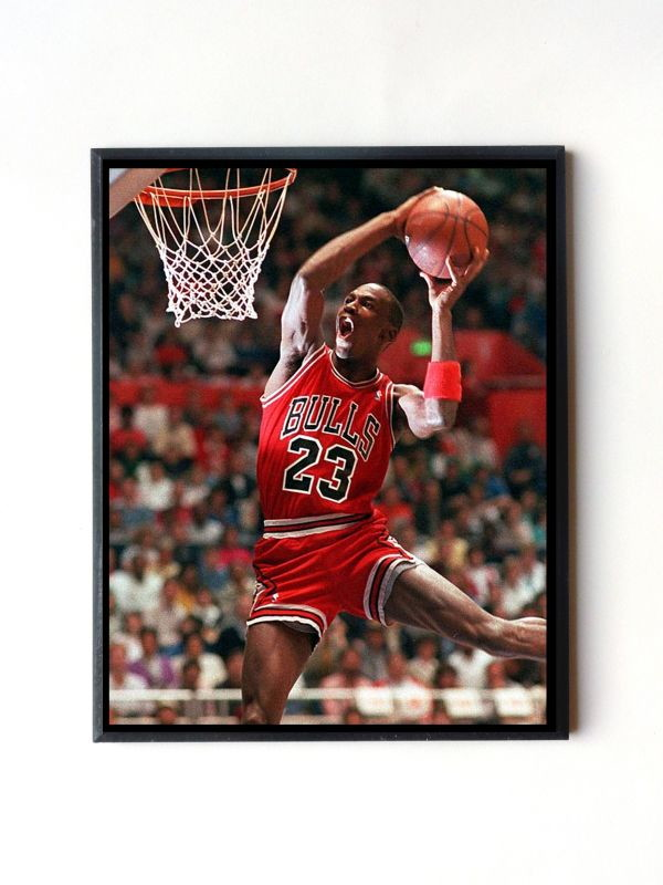 97a41d00bb0 Quadro Michael Jordan 02 no Elo7