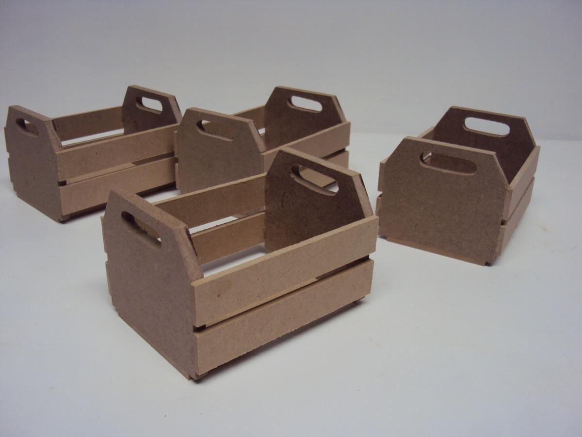 Caixote madeira enfeite festa 10 cm Luartebaby Elo7 #432F2A 1200x900