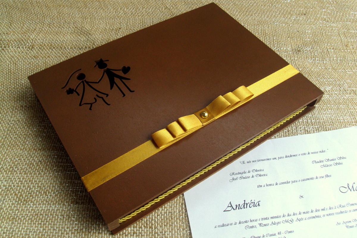 caixa para convite de casamento porta convite caixa para convite de  #AE901D 1200x801