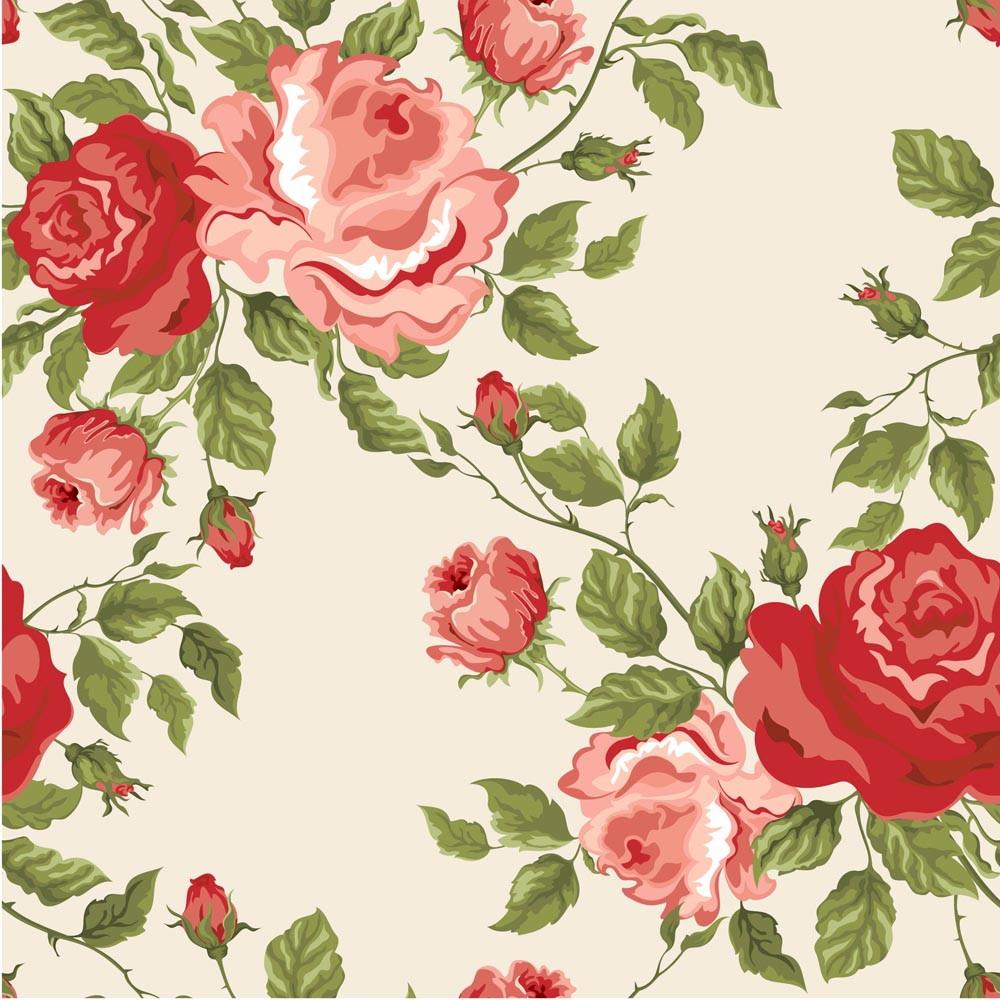 Papel De Parede Floral Decor 02 No Elo7 Crie Decore 4f8544  -> Papel De Parede Sala Floral