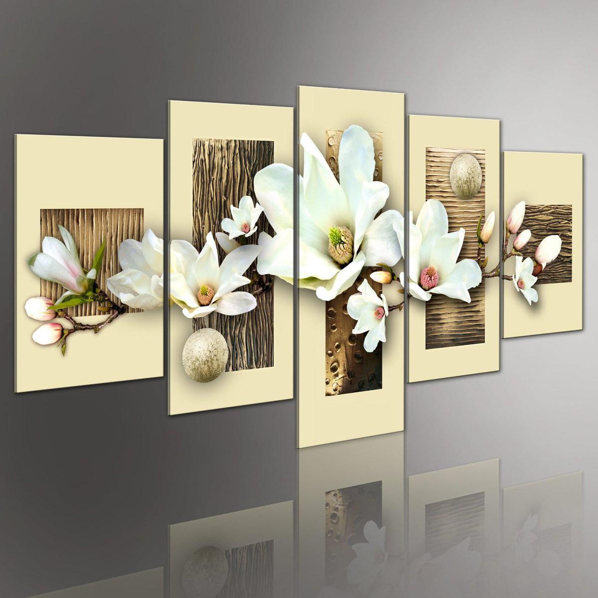 Quadro flores orqu deas brancas cod 1713 meuri quadros e for Ideas decorativas home