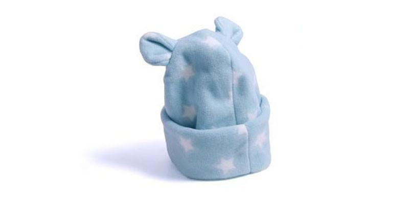 Zoom · Gorro orelha urso em Soft azul - RN 95d1671f5ae