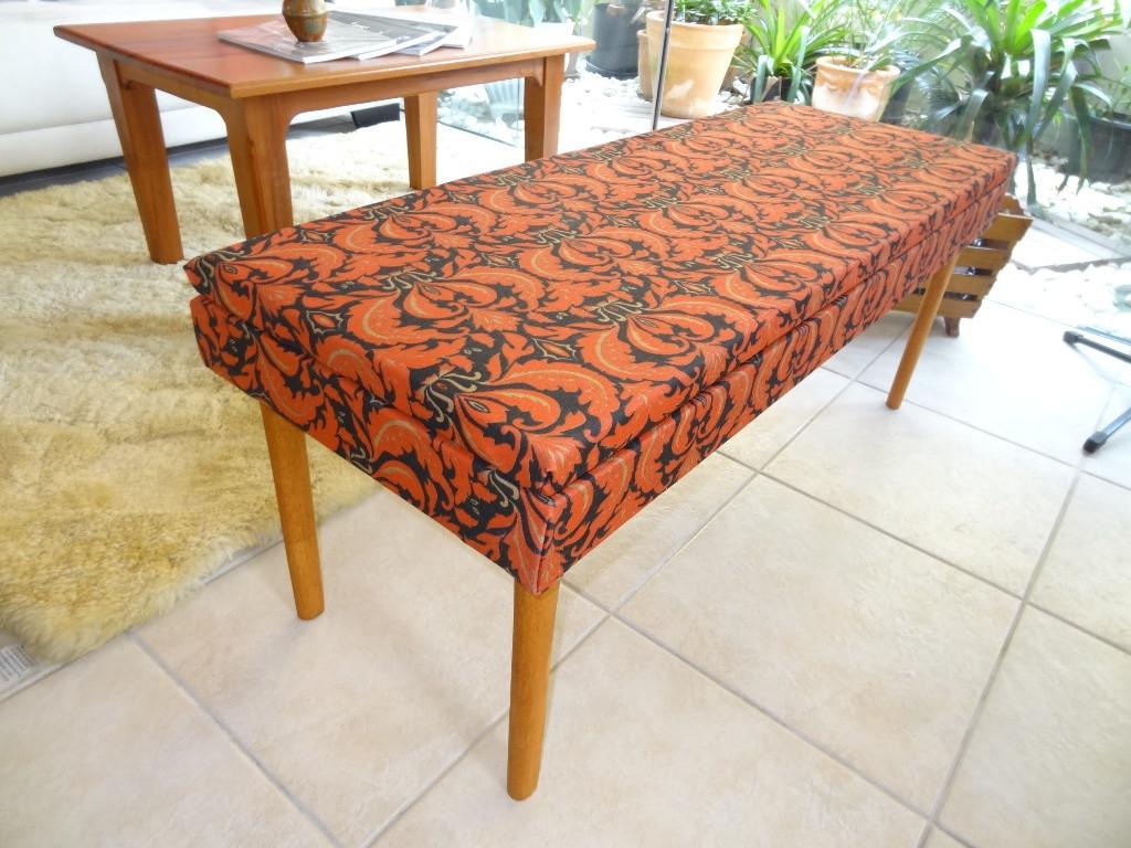 banco estofado estilo indiano estofado para banco de madeira #AE431D 1024x768