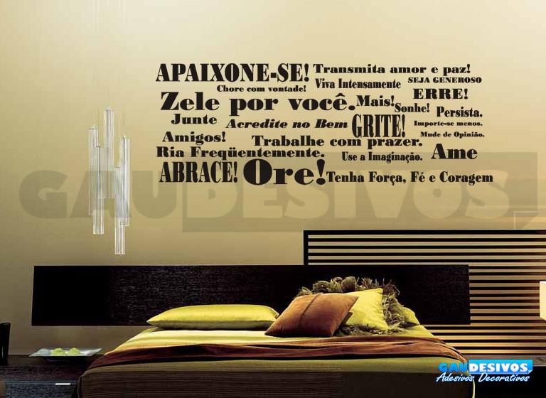 Adesivos Decorativos Frases Pensamentos