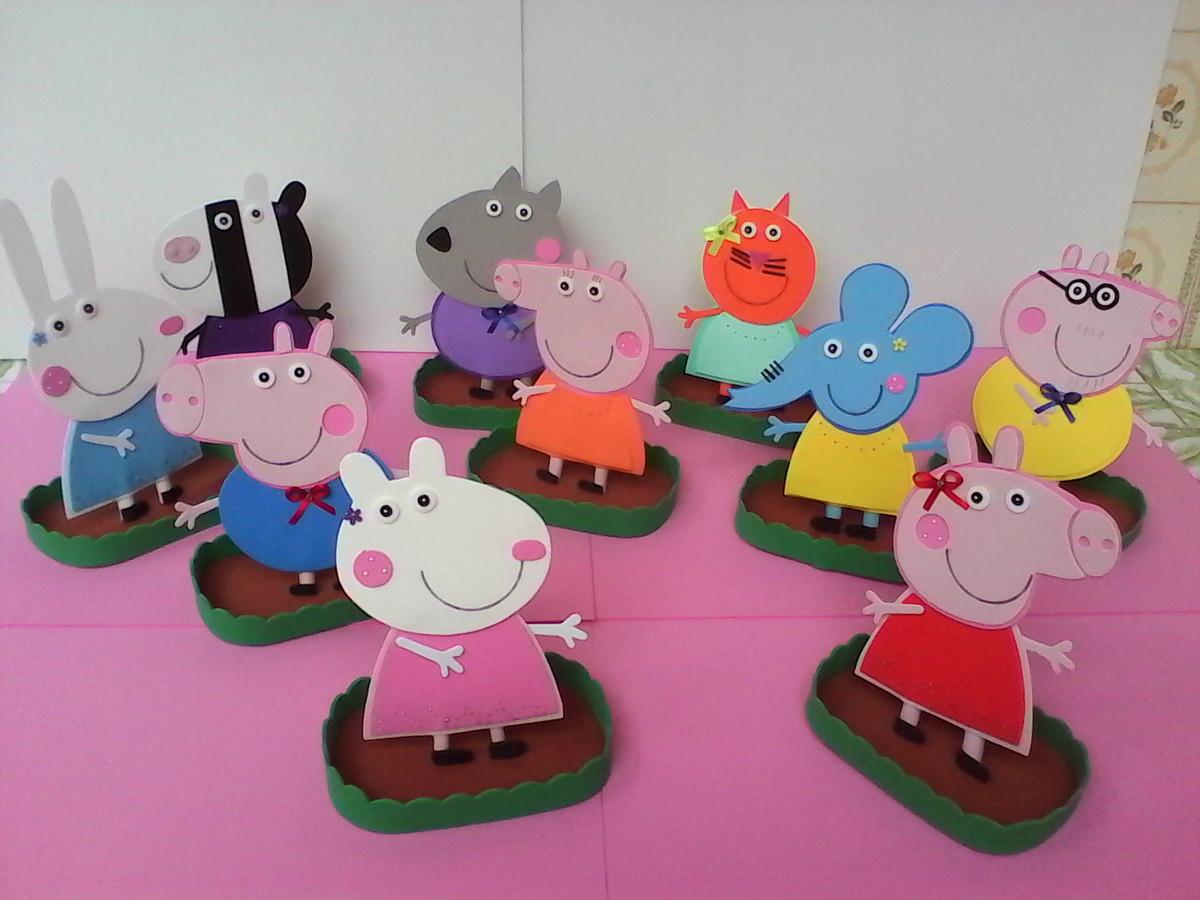 Zoom · Centro de Mesa Peppa Pig