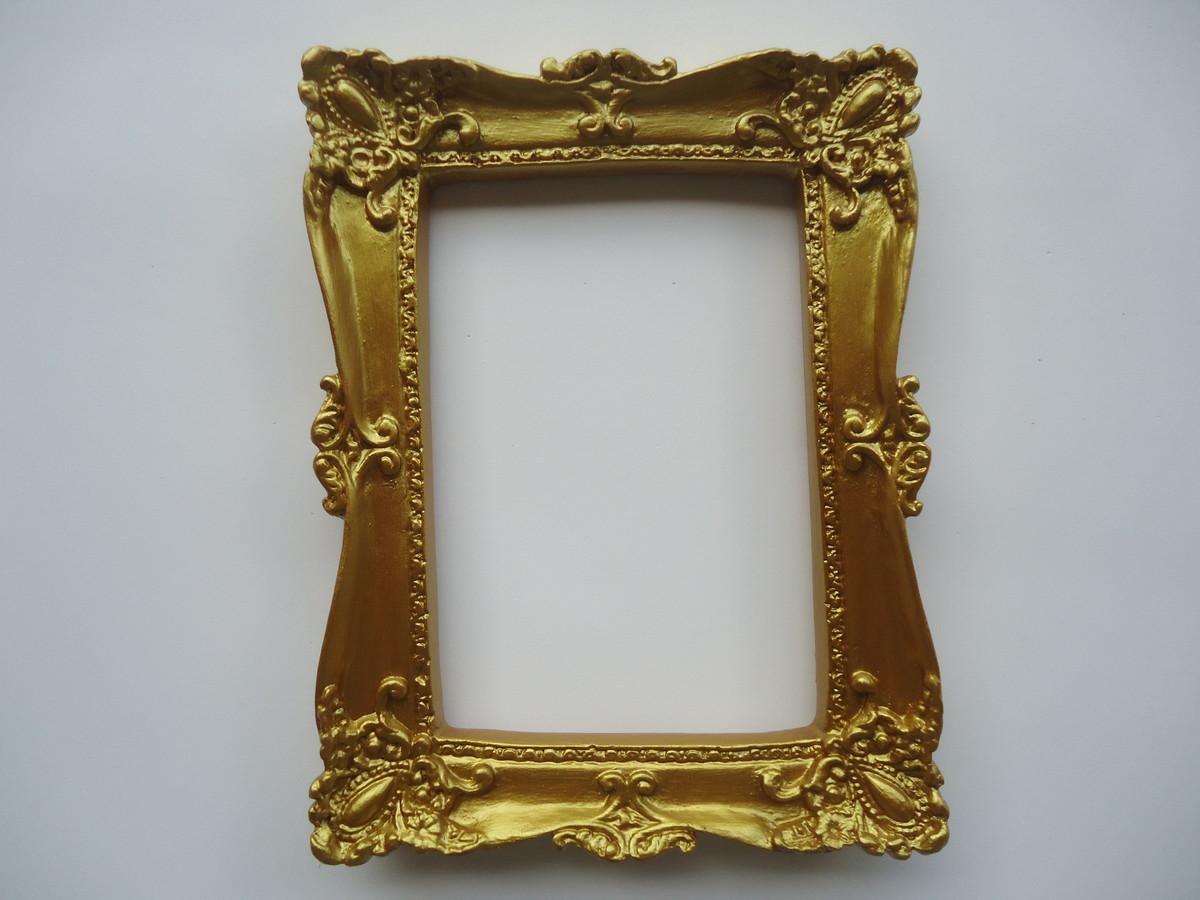 moldura dourada para foto 10x15 espelho no elo7 fuxicando arte em tecido 51a1ce. Black Bedroom Furniture Sets. Home Design Ideas