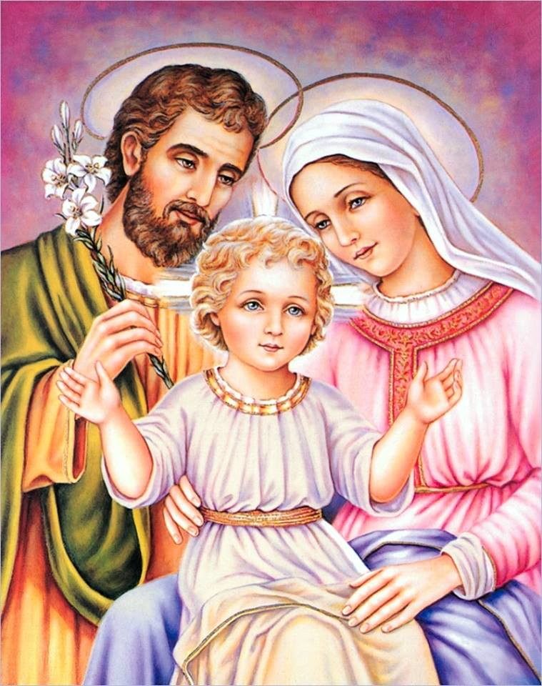 Resultado de imagem para sagrada familia imagem