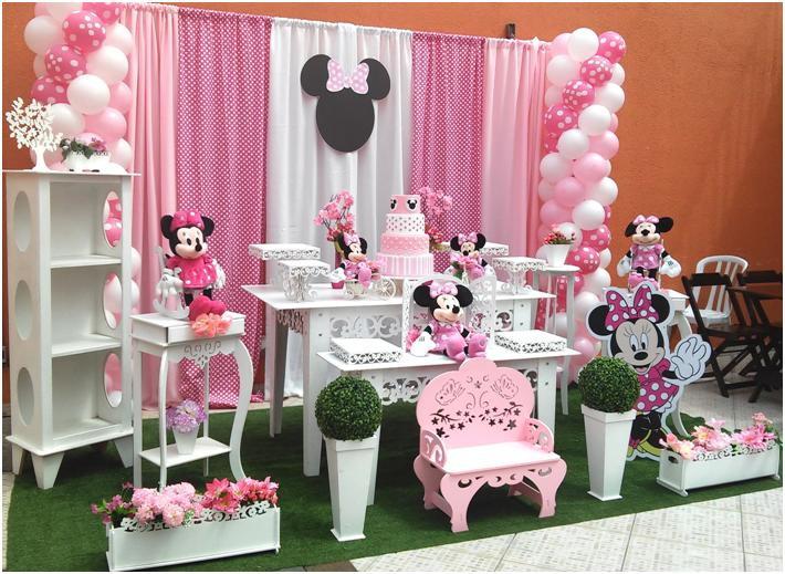 decoracao festa minnie rosa : Decora??o Proven?al Minnie Rosa Rede Festas Decora??es ...