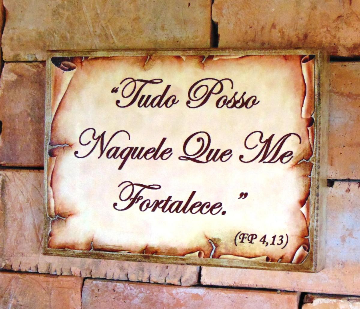 Quadro Vintage Mensagem Bíblica 2 No Elo7 Pingo De Tinta 520e9e