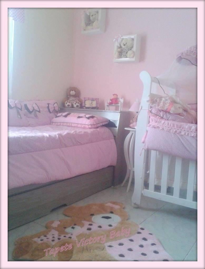 Tapete Ursa Princesa Abra Adas Tapetes De Pel Cia Victory Baby  ~ Decoração Quarto Infantil Princesas