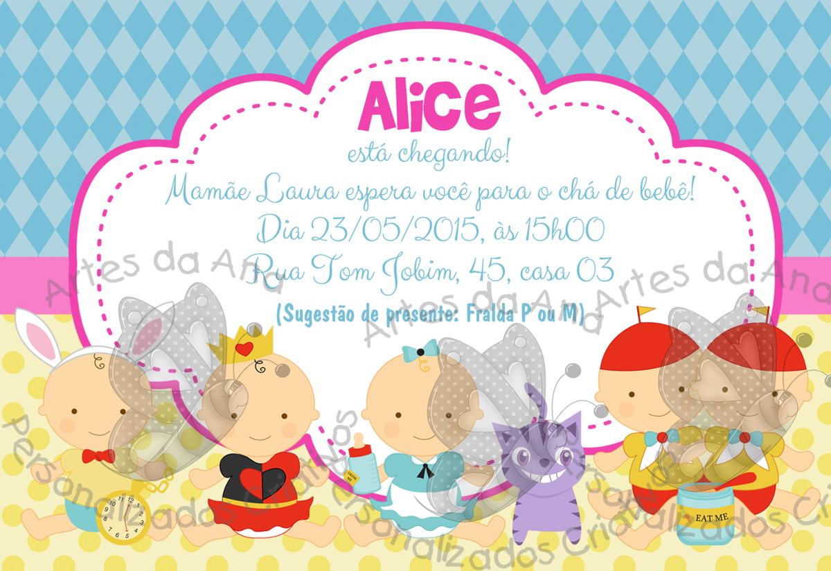 Alice In Wonderland Invitations Free Template was perfect invitations sample