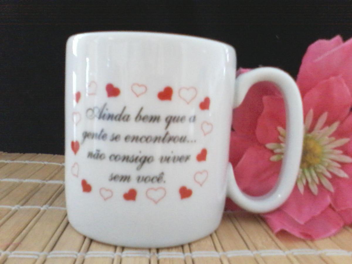 Aparador Jugui ~ caneca frase de amor no Elo7 Cor e Arte Presentes Criativos (531B25)