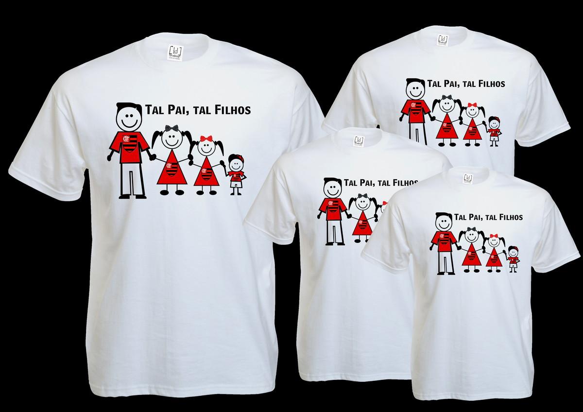 Camisa Tal Pai Tal filhos no Elo7  b0d310207f3ef