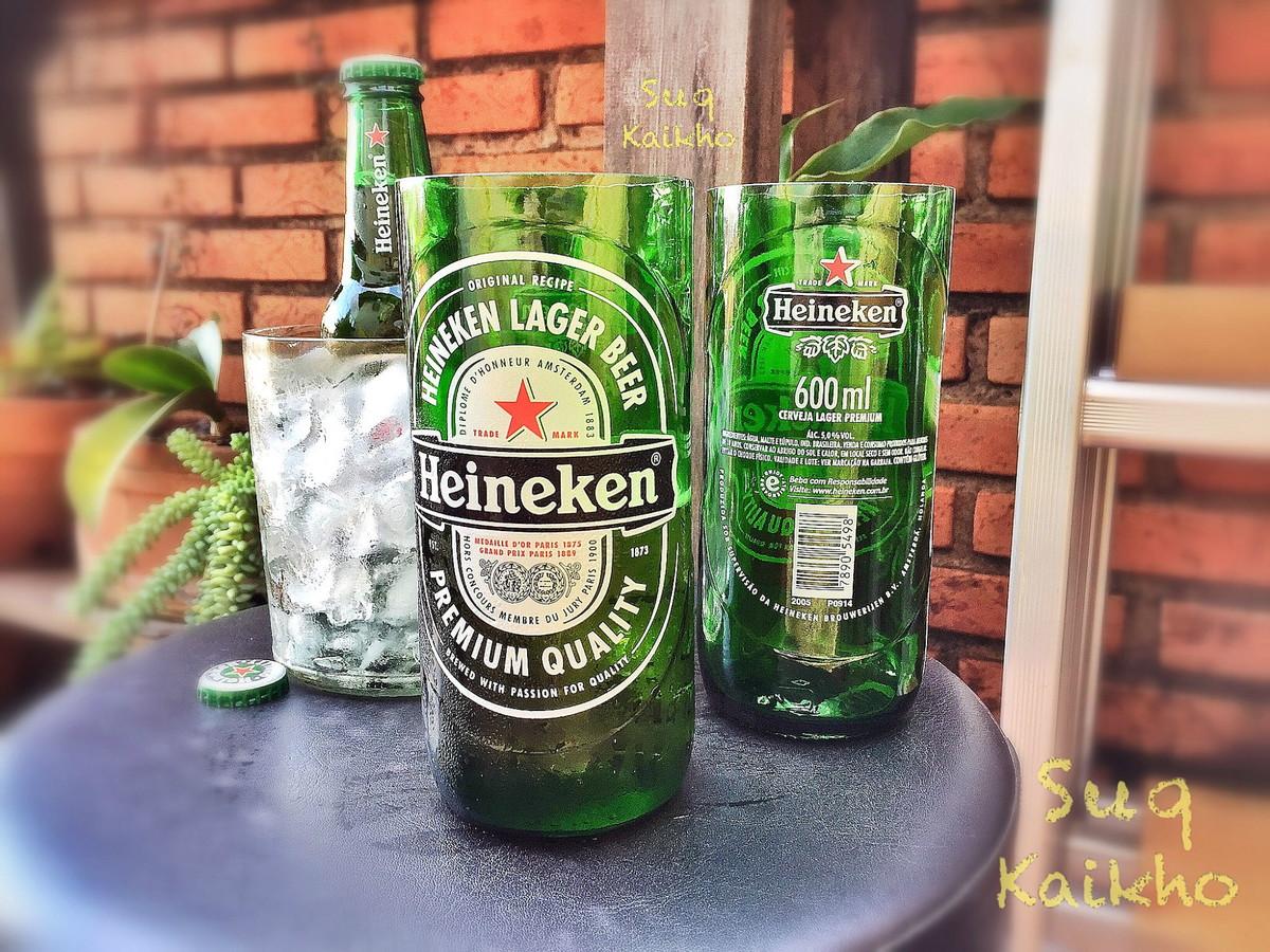 Cop o de garrafa heineken 500ml no elo7 sk eco store for Super copo