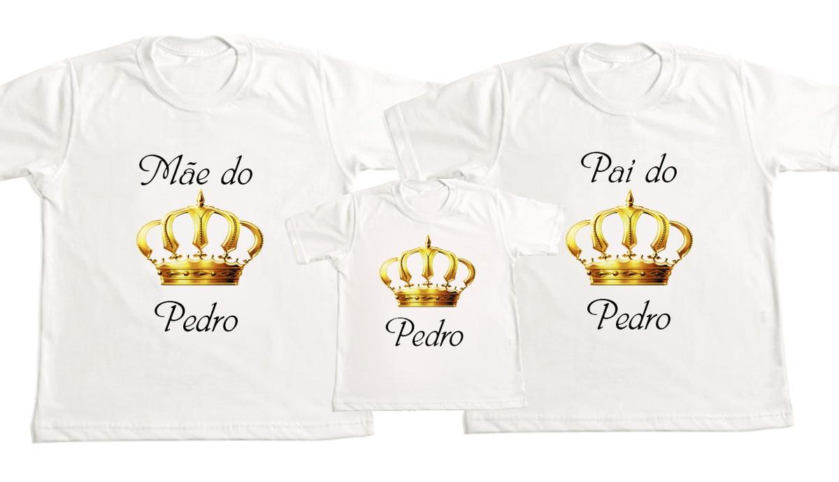 d29c88755 Kit 3 Camisetas Personalizadas Princesa no Elo7