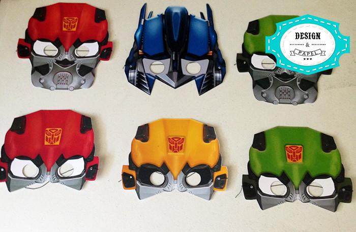 Imagenes Mascaras De Transformer: Máscara Transformers No Elo7
