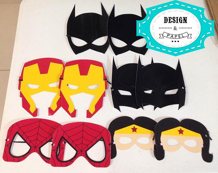 Máscara Super Heróis Vingadores Papel No Elo7 Nimo 506791