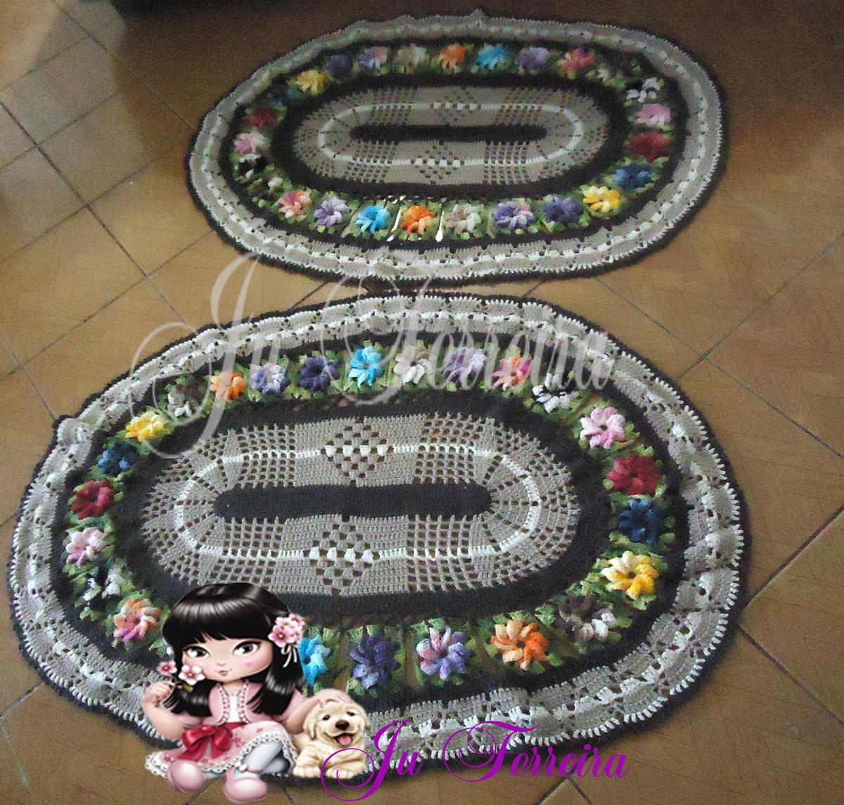 Tapete floral no elo7 atelie ju ferreira 546c62 for Tapete floral
