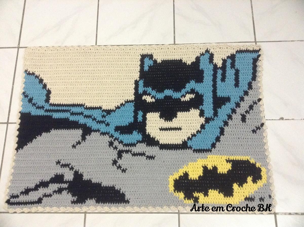 Tapete Homem Morcego No Elo7 Arte Em Croche Bk 547a57  -> Tapetes Desenhos