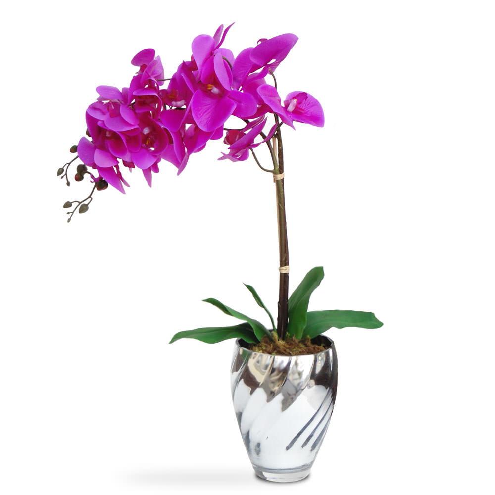 arranjo de flores artificiais orquideas no elo7 felicitadecor 54c627