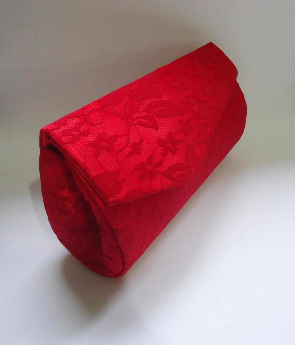 Bolsa De Mão Para Festa Vermelha : Carteira renda vermelha vivi maciel elo